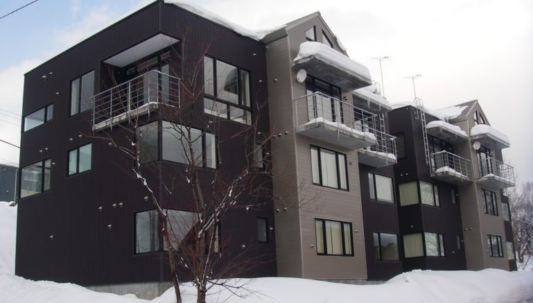 Horizon Townhouse Exterior Winter