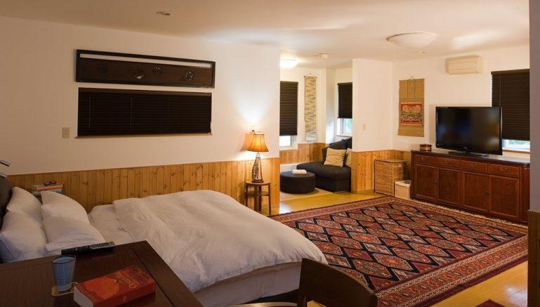 Chalet Murasaki Bedroom