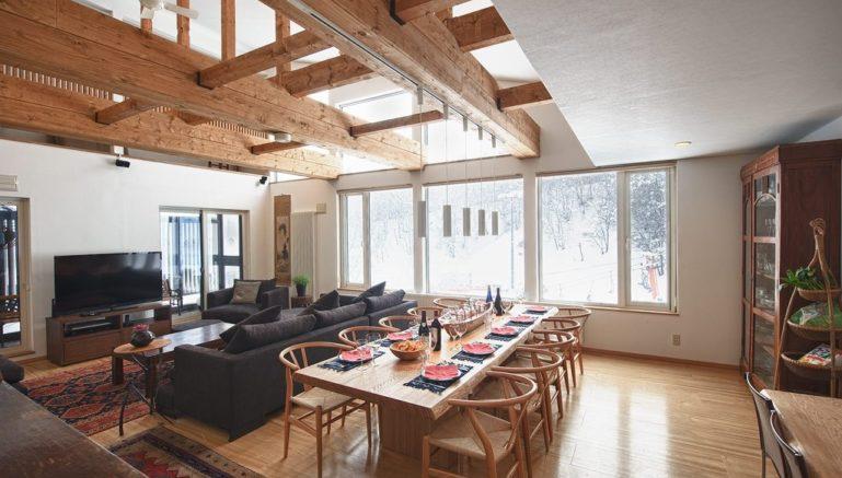 Chalet Murasaki Living Room