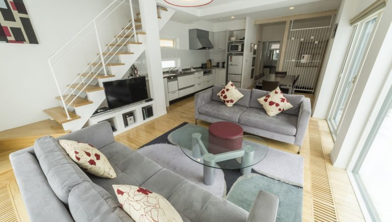 Hirafu House Hh02 You Byoutei Living Room