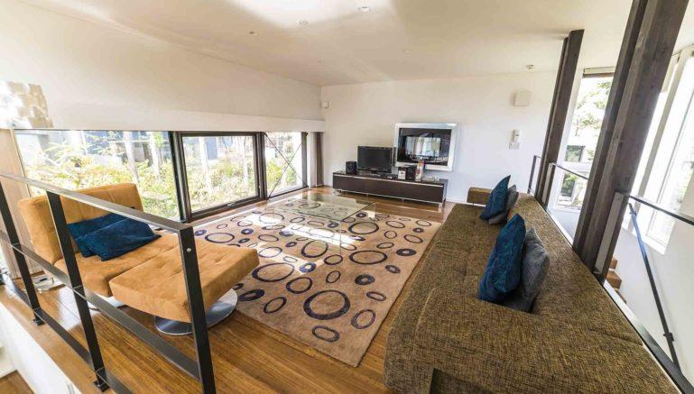 Mori  K  Mork  Konishi  House  Living  Room  Summer1