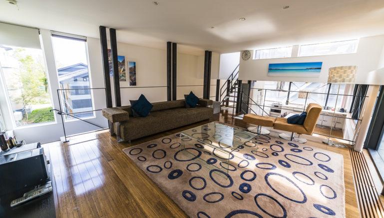 Mori K Mork Konishi House Living Room Summer2