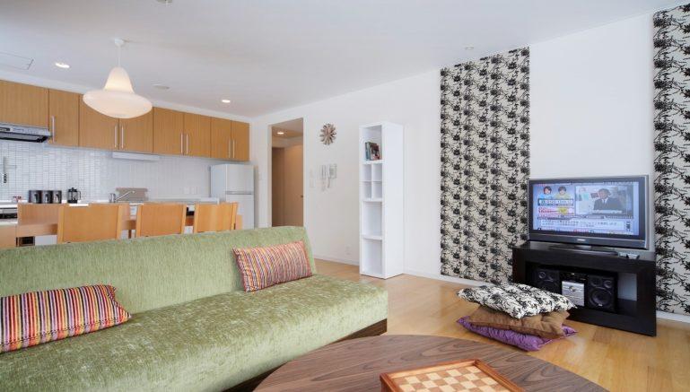 Yama Shizen Living Room