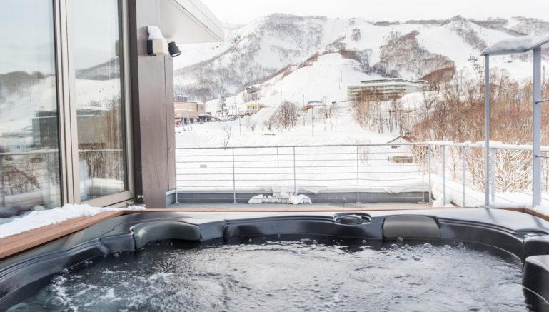 Yama Shizen Yw601 Hot Tub Winter