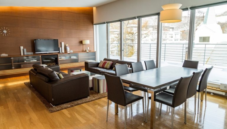 Youtei Tracks 2 Bedroom Penthouse Dining Winter