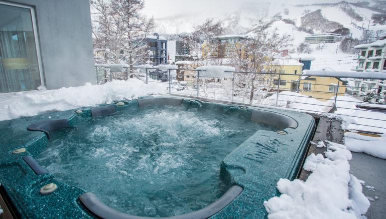 Youtei Tracks Yt503 Hot Tub Winter
