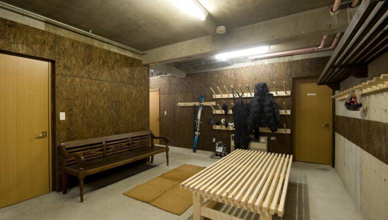 Chalet Murasaki Ski Storage