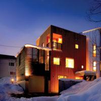 冬の戸建て一例