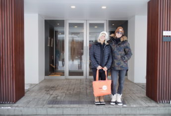 Jenny Jones At Yama Shizen With Friend Anke Eberhardt 1