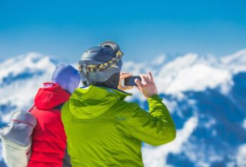 Mountains Summit Winter Snow 163168