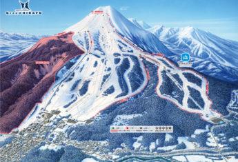 Grand Hirafu Open Map