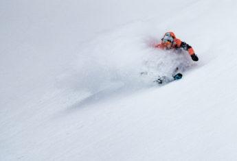 Alex Koens powder turns in the BC