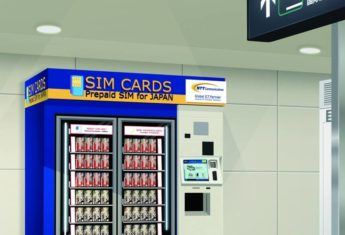 Pre-paid SIM cards, Narita International Airport