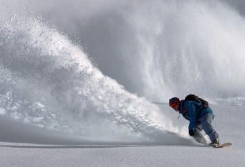 snowboarding power snow winter