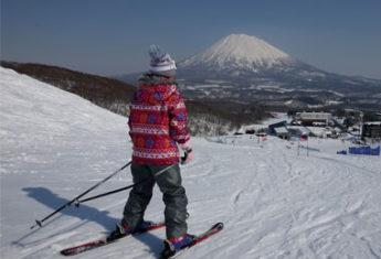 Mt. Yotei in Spring