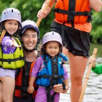 Rafting with EdVenture