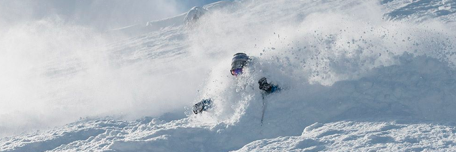 GoSnow instructor Vincent on a Niseko powder day, February 2015