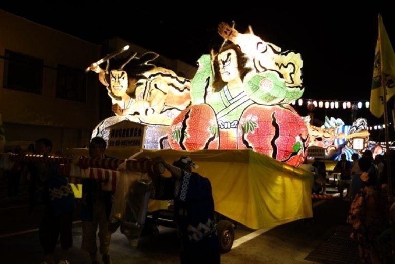Nebuta Kutchan Town Potato Festival Jaga Matsuri 2016