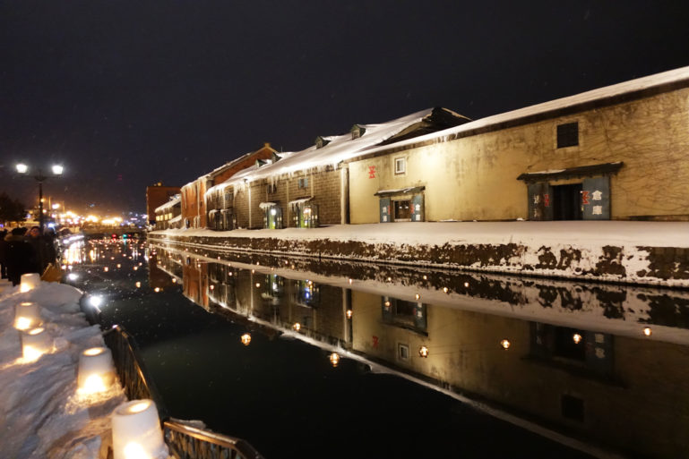 Otaru Snow Light Path 201711