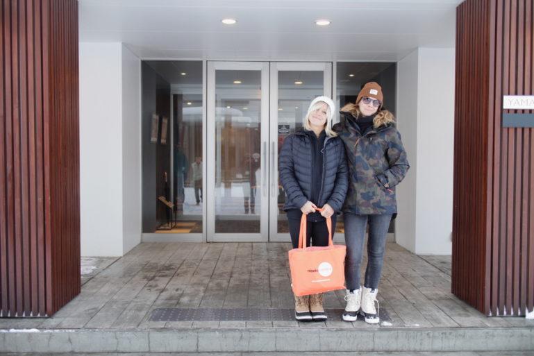 Jenny Jones At Yama Shizen With Friend Anke Eberhardt 1