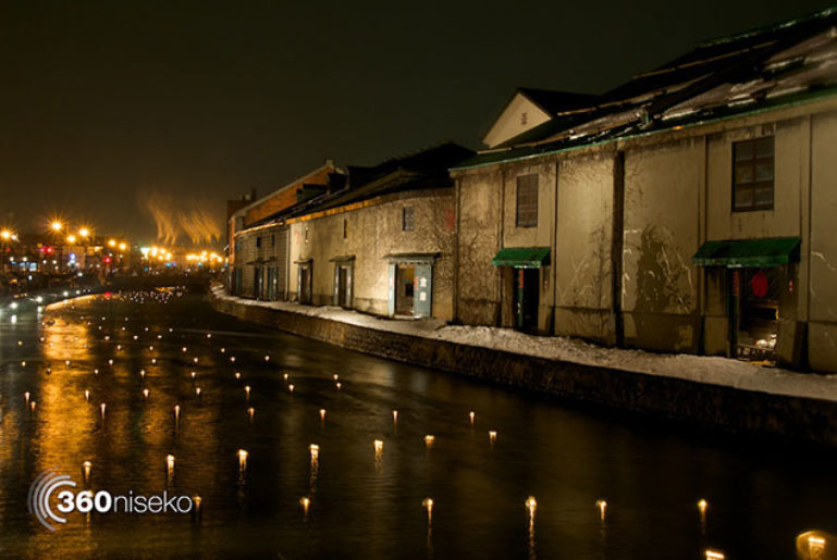Otaru-Snow-Light-Path-Old-Canal-635