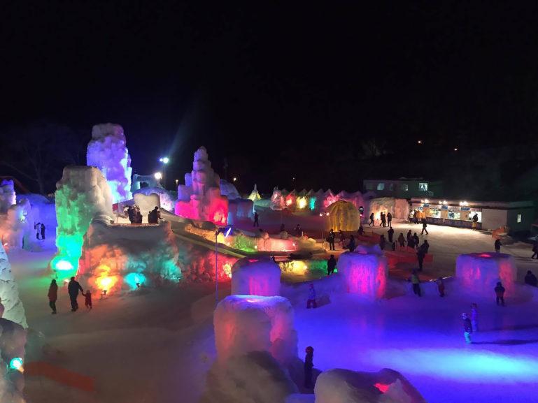 Shikotsu Ice Festival 201713