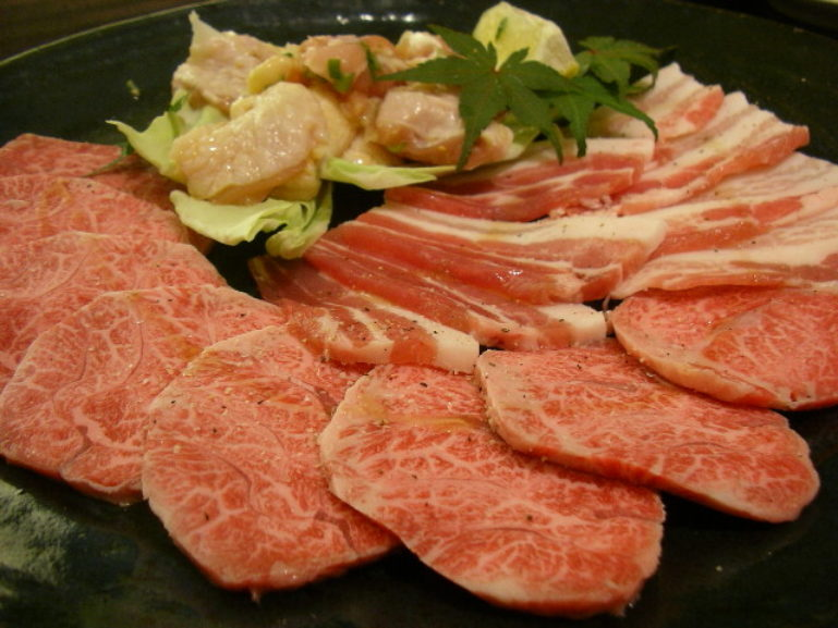 A Yakiniku Meat Spread