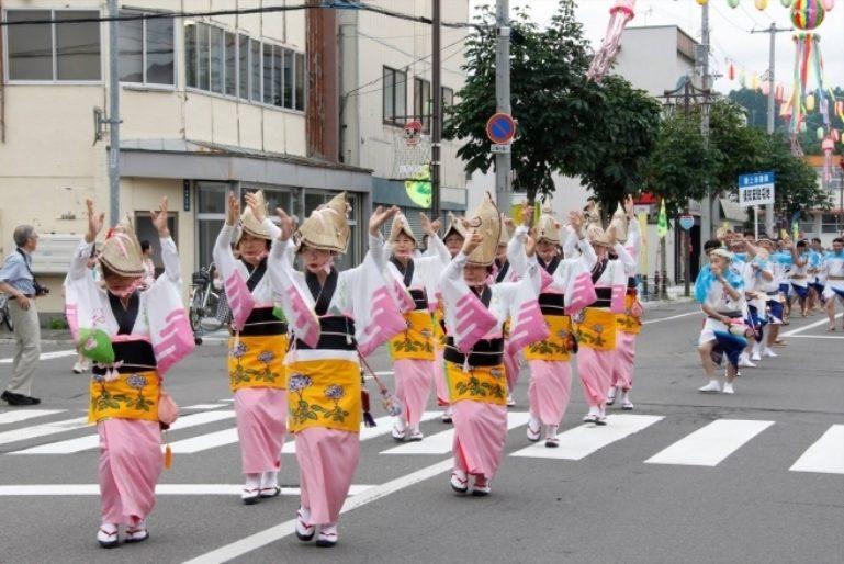 Awa Dancers Kutchan Town Potato Festival Jaga Matsuri 2016