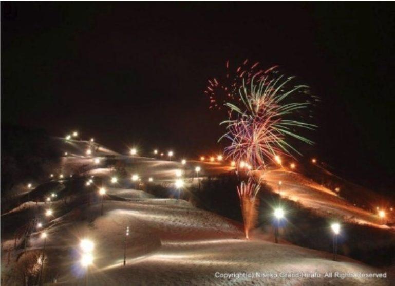 Fireworks Grand Hirafu