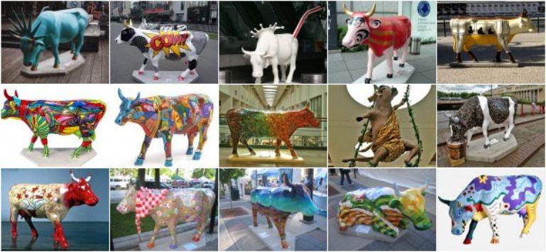 Cow Parade Niseko