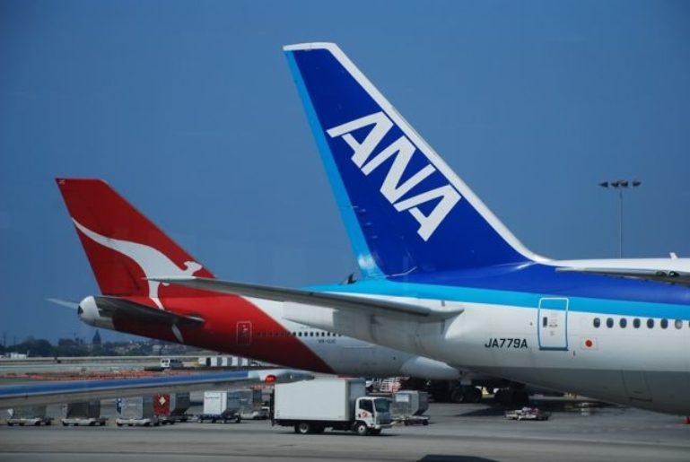 Qantas and ANA