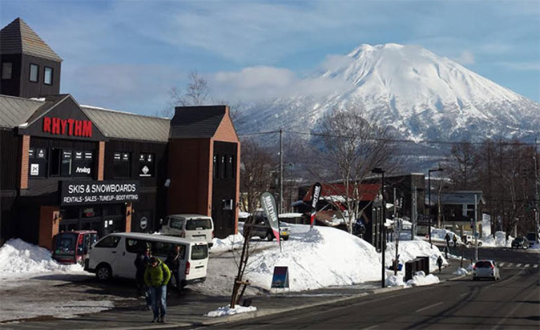 Rhythm Niseko is a great place for buying ski equipment
