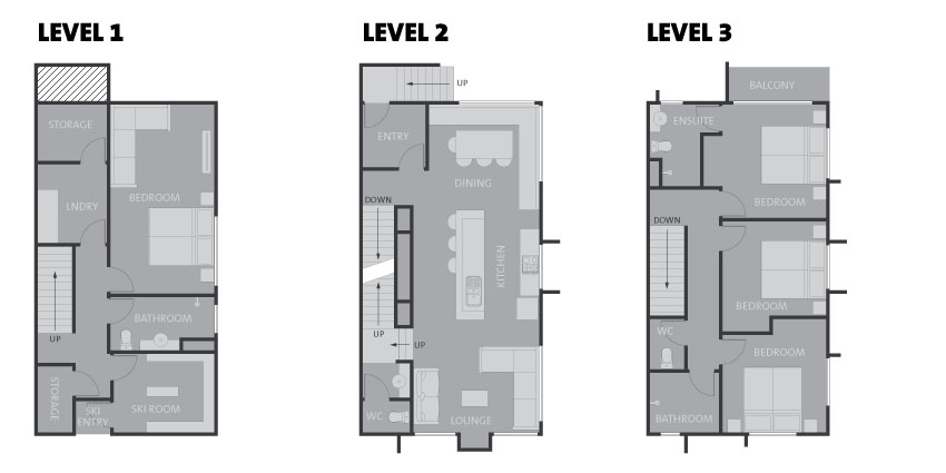 4 Bedroom House - Kashi Lodge — Niseko Central