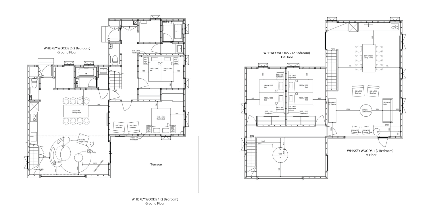 100 2 Bedroom Ground Floor Plan 100 2 Bedroom