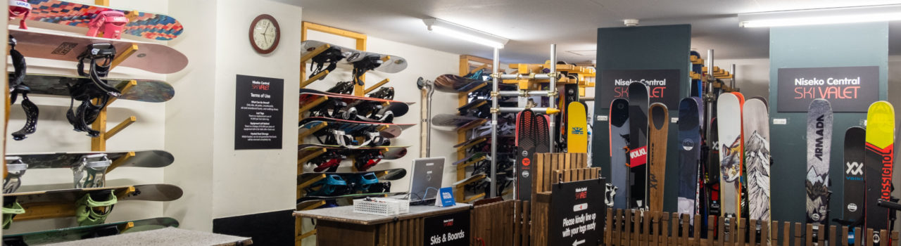 Plenty of space to safely store your boards, skis and boots.