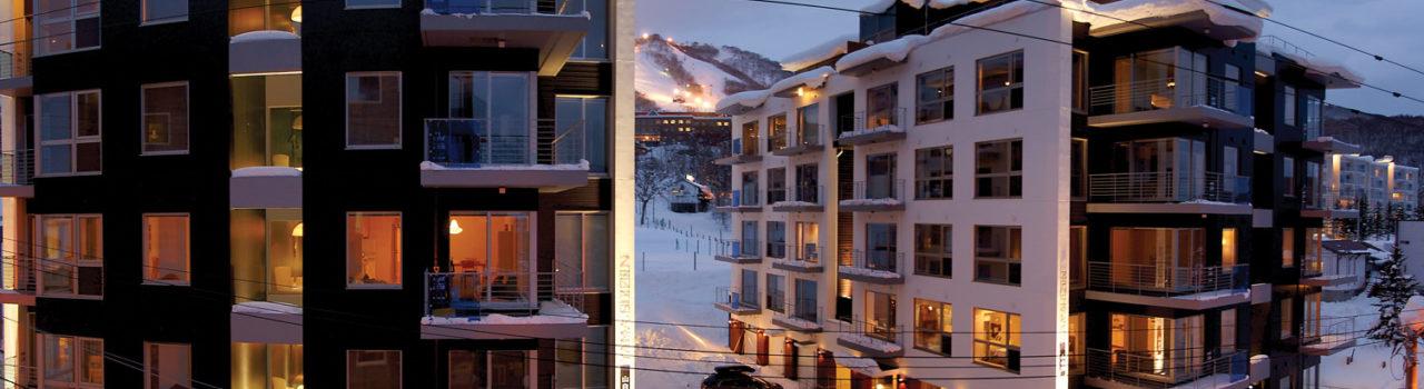 Yama Shizen Winter Exterior