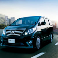 Alphard Luxury Minivan
