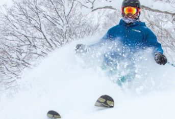 Niseko powder instructor