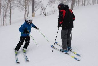 Niseko private ski lesson