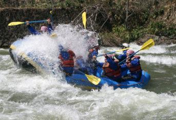 Niseko rafting