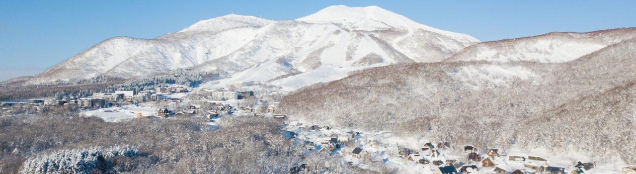 Drone Mt Annurpuri Blue Skies High Res