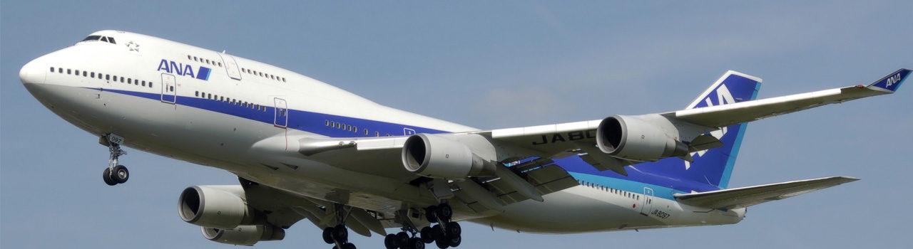 ANA flight Tokyo to Sydney