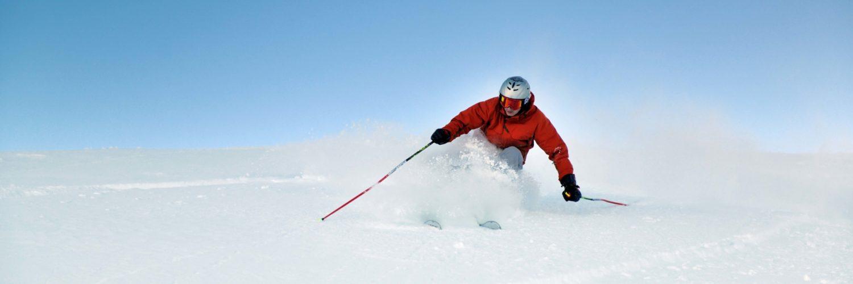 Powder Skiing Snow Winter Edit