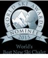 Nominated for World's Best Ski Chalet at the World Ski Awards 2015